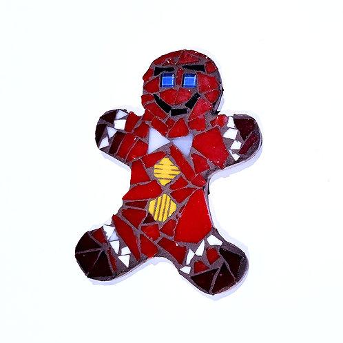 Gingerbread Man Mosaic Making Kit