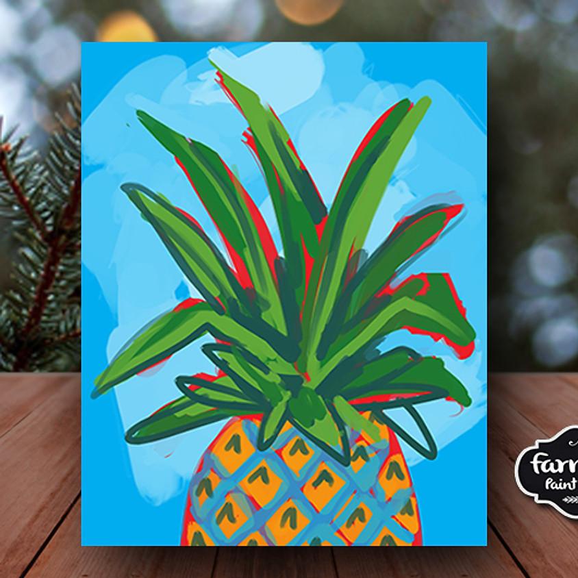 Pineapple - Virtual Painting Class