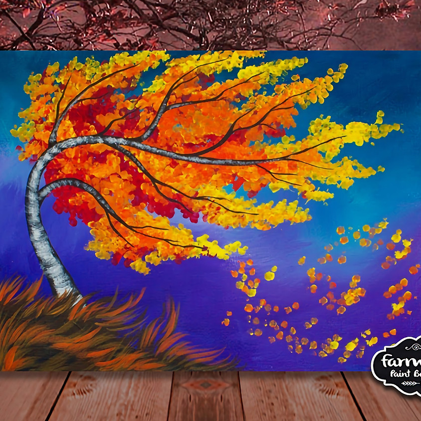 Fall Winds - Step by Step Painting Class
