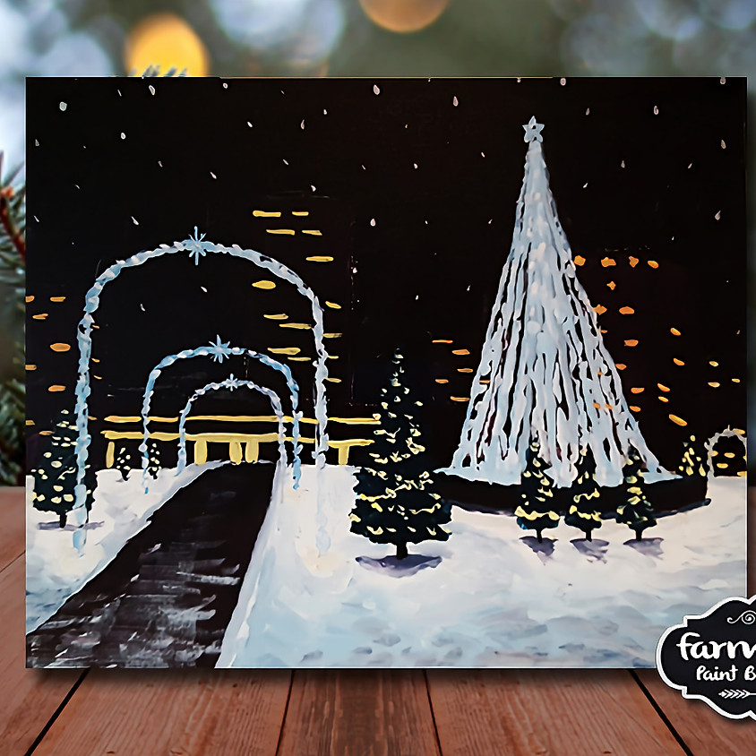 Downtown Snow - Step by Step Painting Class