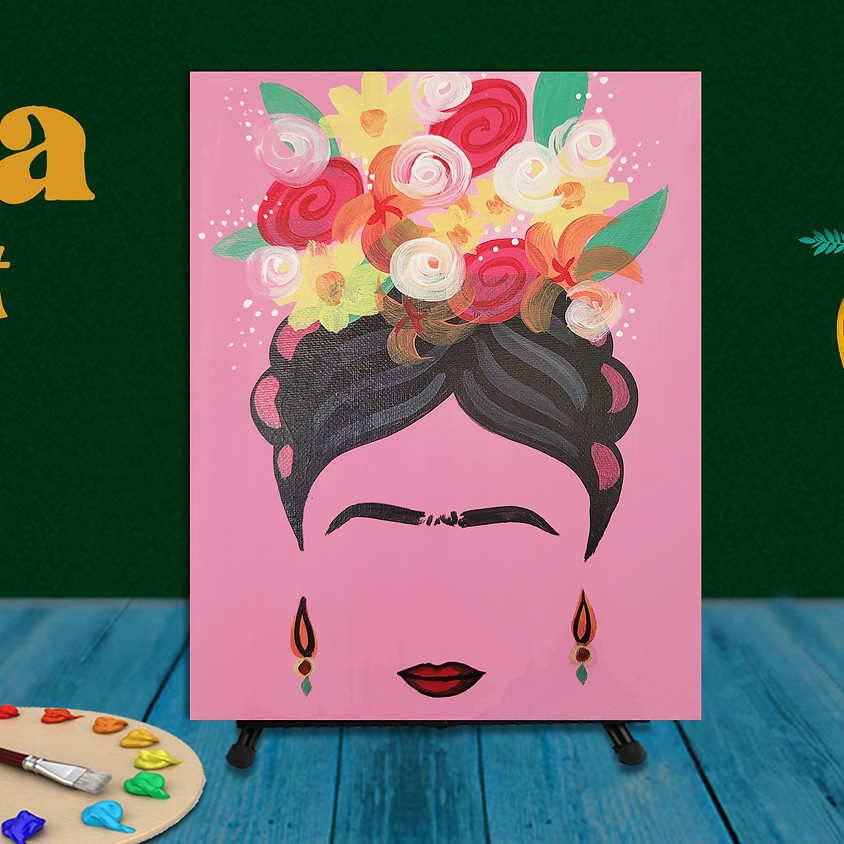 """Frida Fest Painting Class """"Silhouette"""""""