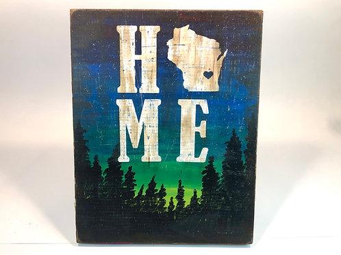 Wisconsin Home Woods Mixed Media Kit
