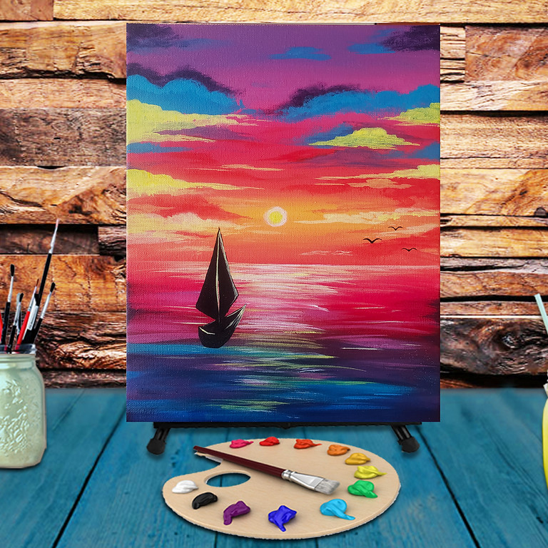Set Sails - Virtual Step by Step Painting Class