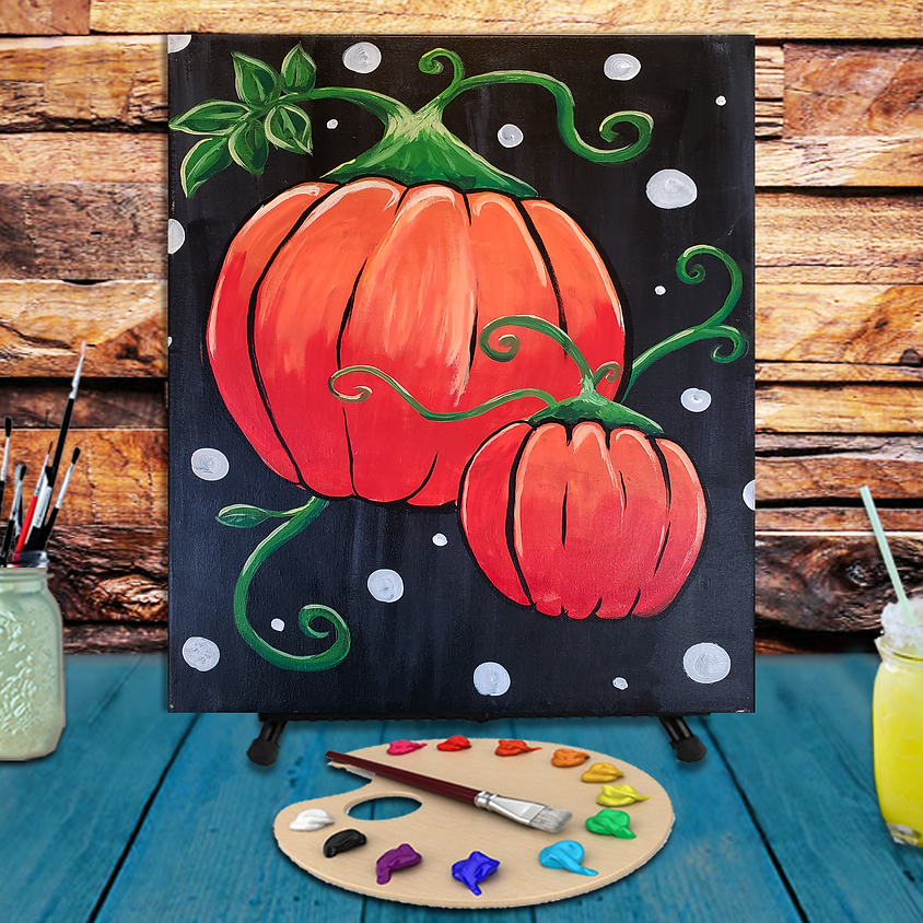 Pumpkins - Step by Step Painting Class