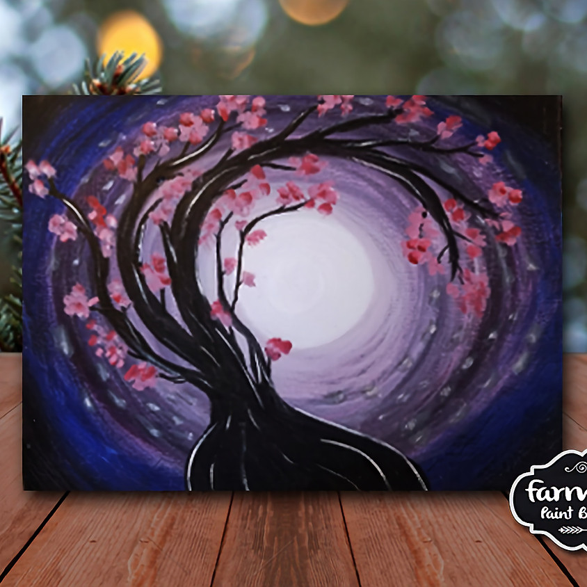 Twisted Tree - Virtual Painting Class