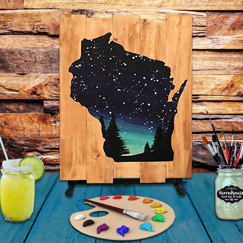 Wisconsin Mix Media - Virtual Step by Step Painting Class