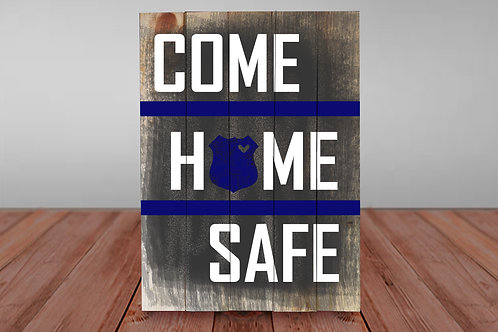 Come Home Safe - Woodsign Making Experience