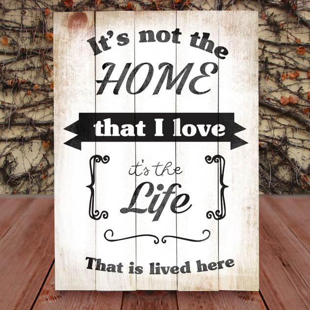 Its Not the Home