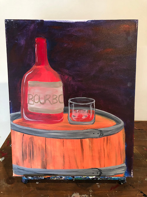Bourbon (16x20 canvas)