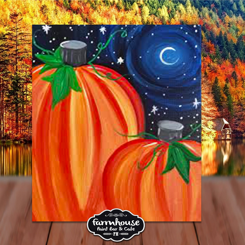 Pumpkin Night - Step by Step Painting Class