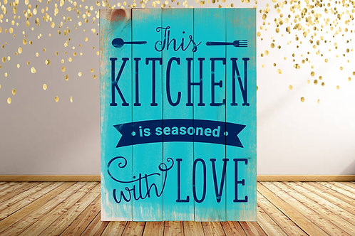 Seasoned with Love - Woodsign Making Experience