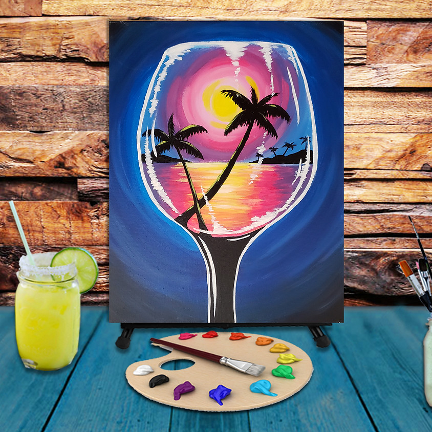 Summer Glass - Step by Step Plein Air Painting Class