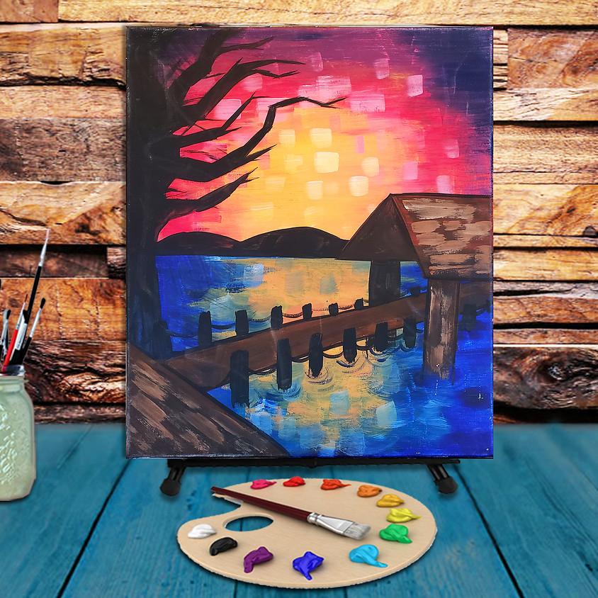 Lake Bridge - Step by Step Plein Air Painting Class