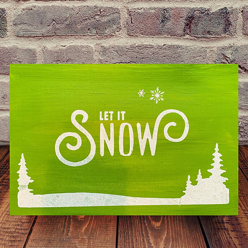 Let it Snow Wood Experience
