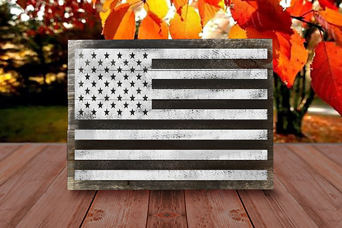 USA Flag - Woodsign Making Experience