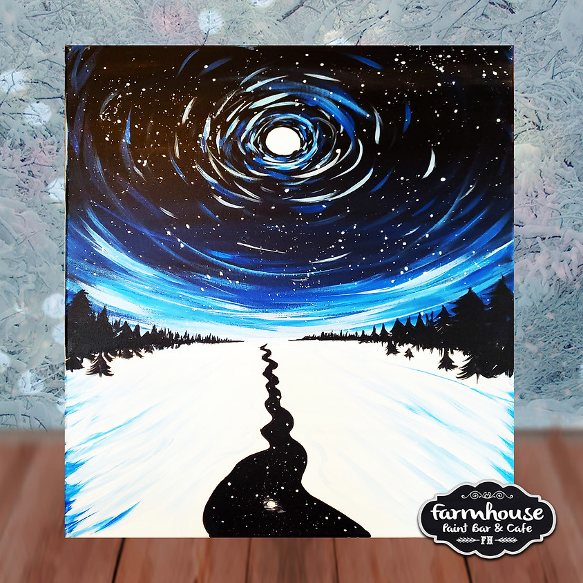 Moving Stars - Step by Step Painting Class