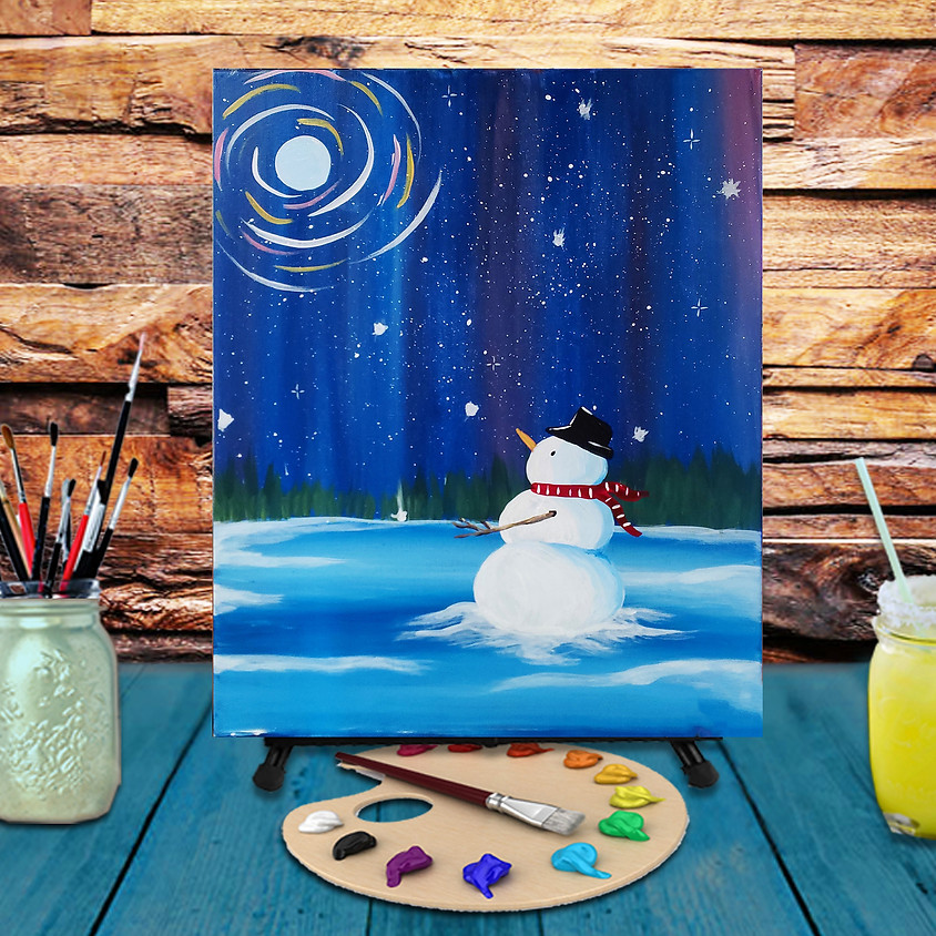 Star Gazing - Virtual Step by Step Painting Class