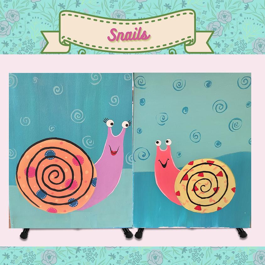 Mommy & Me - Snails