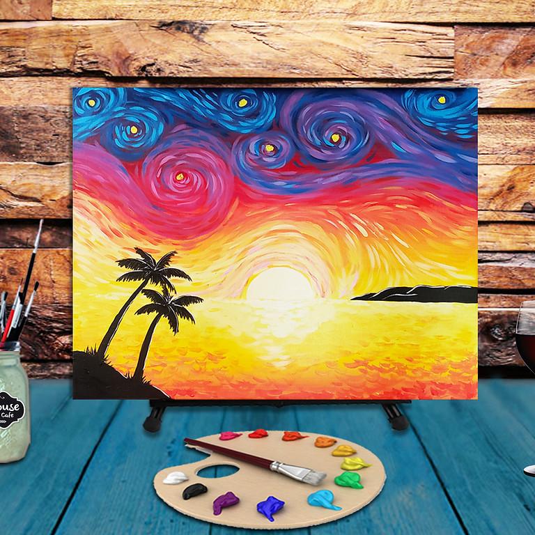 Van Gogh Beach -  Step by Step Painting Class