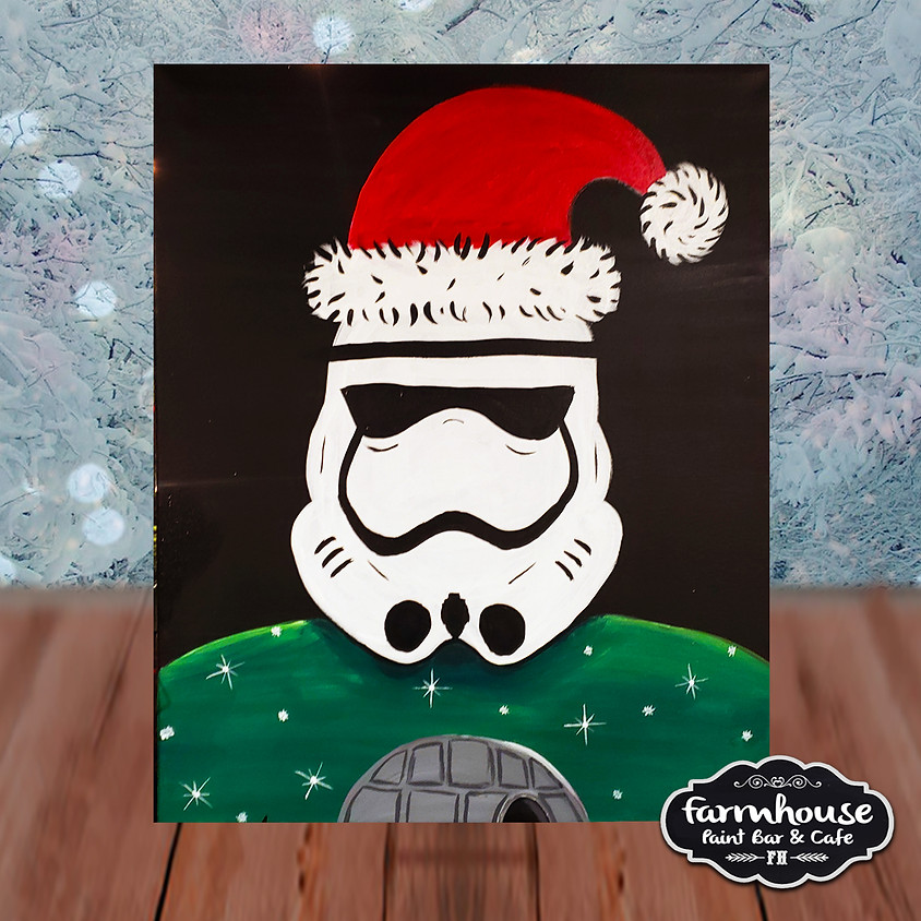 Jolly Trooper - Step by Step Painting Class
