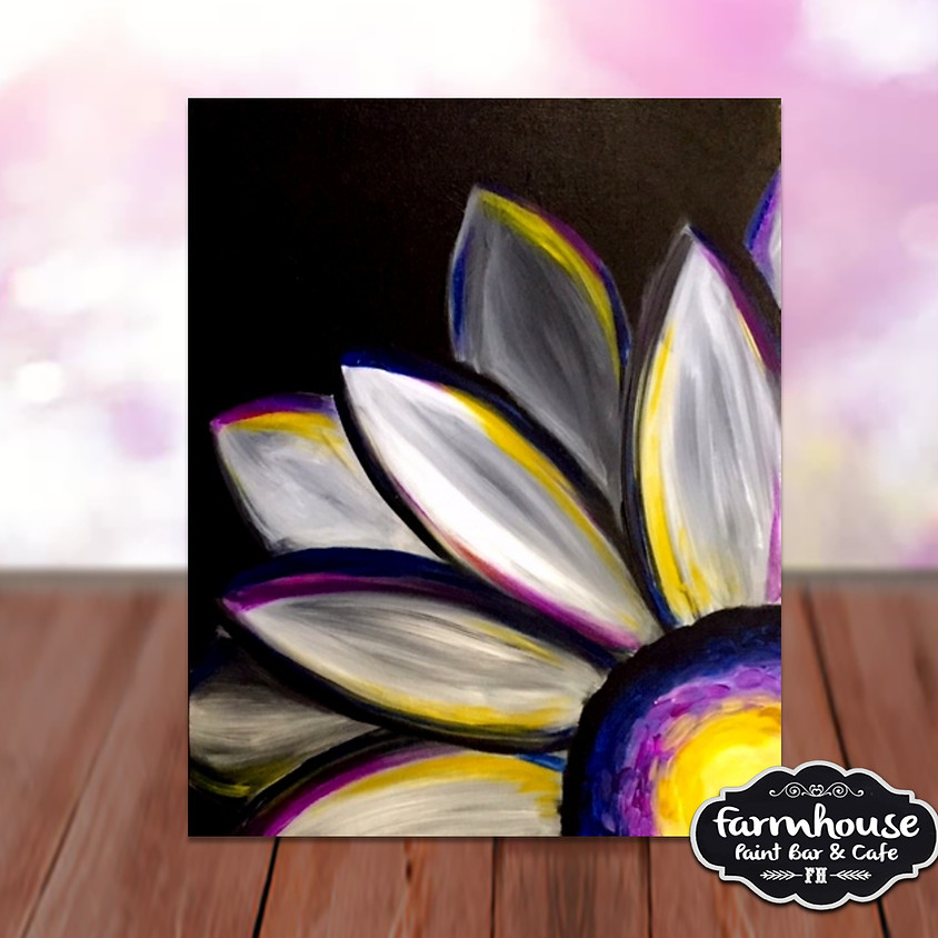 Spring Flower - Step by Step Plein Air Painting Class