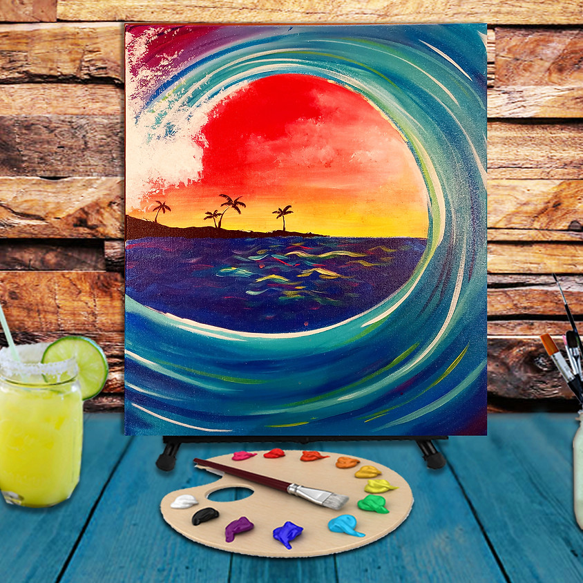 Inside the Wave -  Step by Step Painting Class