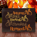 Autumn Thankful and Blessed