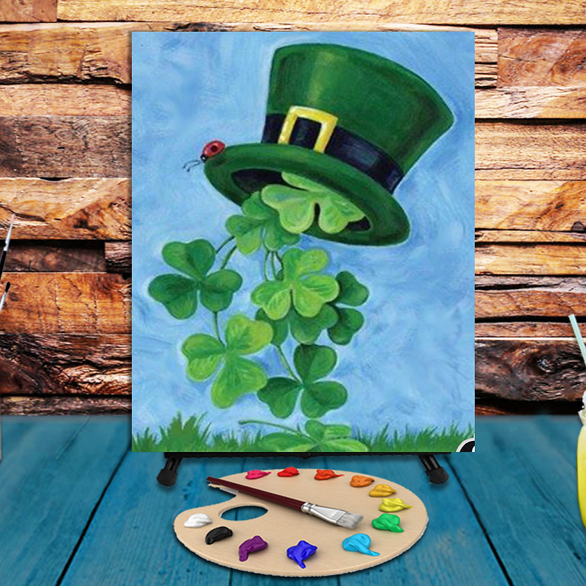 Green Hat -  Virtual Step by Step Painting Class