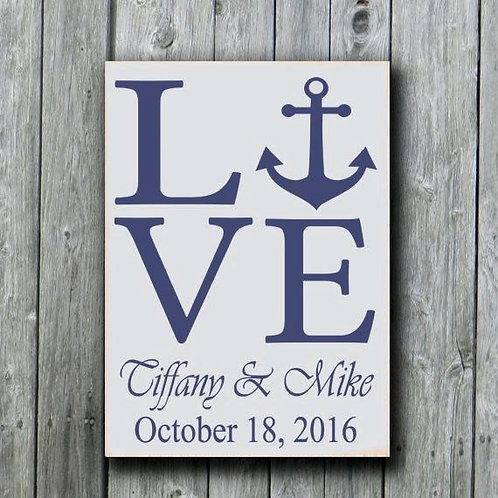 Anchor Lover - Wood Sign Making Experience