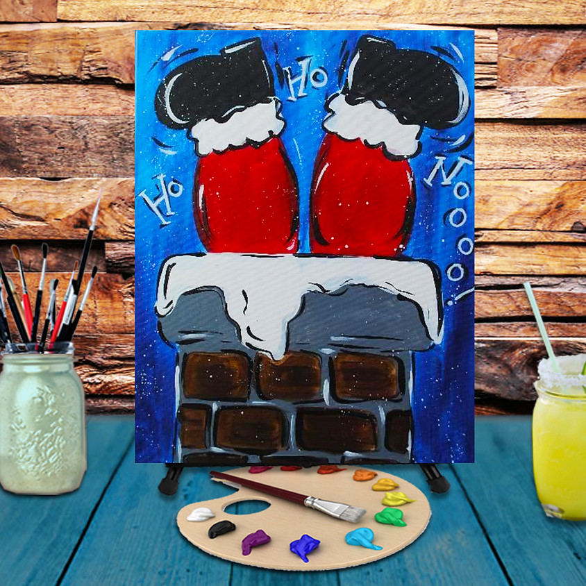 Down The Chimney -  Step by Step Painting Class