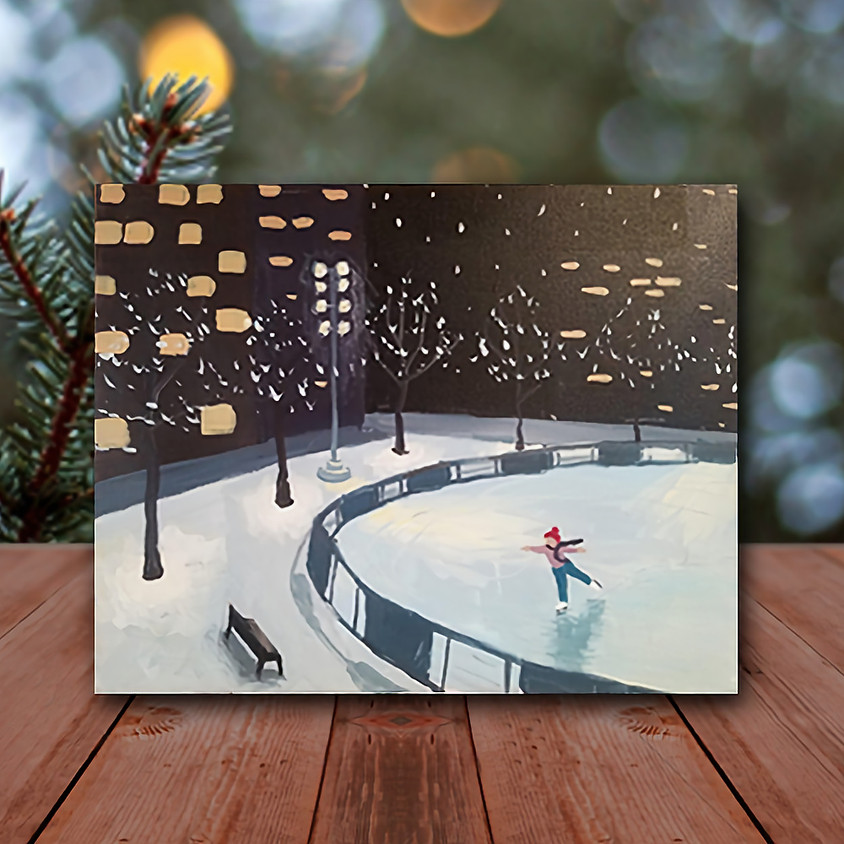 MKE Skating - Virtual Step by Step Painting Class
