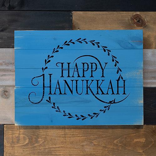 Happy Hanukkah - Woodsign Making Experience