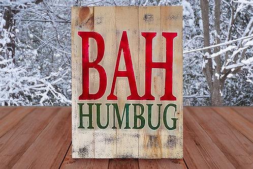 Bah Humbug - Woodsign Making Experience