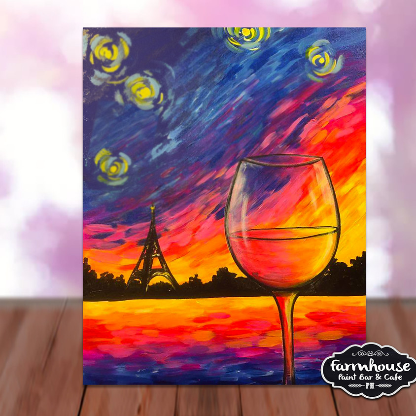 Sunset in Paris- Step by Step Plein Air Painting Class