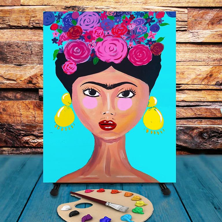 Frida - Virtual Step by Step Painting Class