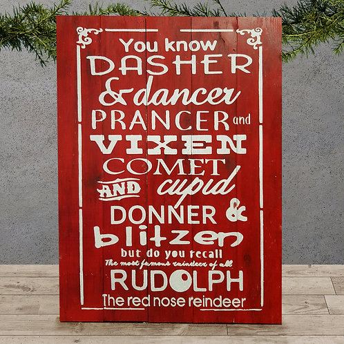 You know Dasher - Woodsign Making Experience