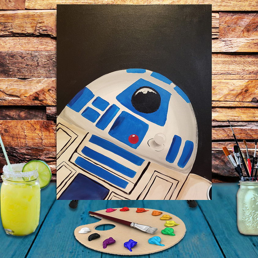 May the Force be with You - Virtual Step by Step Painting Class