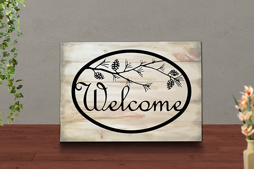 Welcome Acorns - Woodsign Making Experience