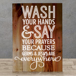 Wash your Hands Germs and Jesus