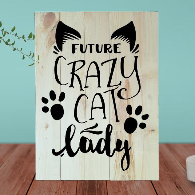 Future Crazy Cat Lady