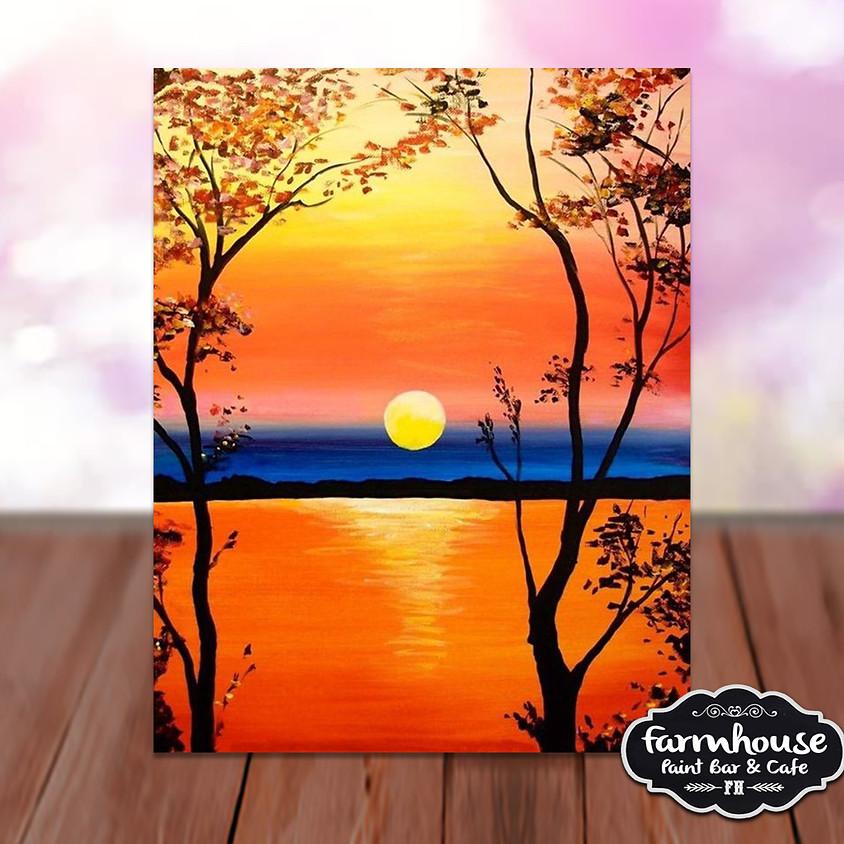 Lake Sunrise- Step by Step Plein Air Painting Class