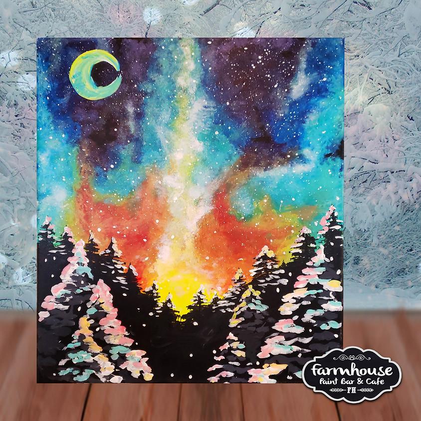 Rainbow Night - Step by Step Painting Class