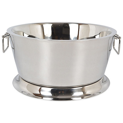 Cooler Ice Tub - Stainless Steel 17""
