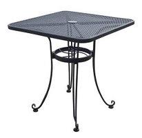 Table Bistro 4'x4' - Black Iron