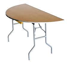 "Table, 60"", Half-Round"