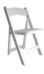 Chair - White Padded