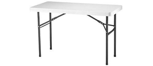 "Table 4'x24"" Banquet - Folding Plastic"
