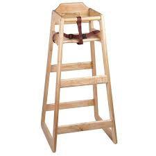 High Chair, Wooden