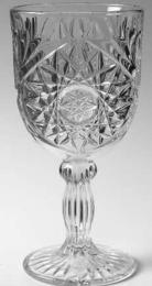 Star Wine Goblet Glass - 12 oz