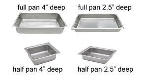 Chafer Pan - Options